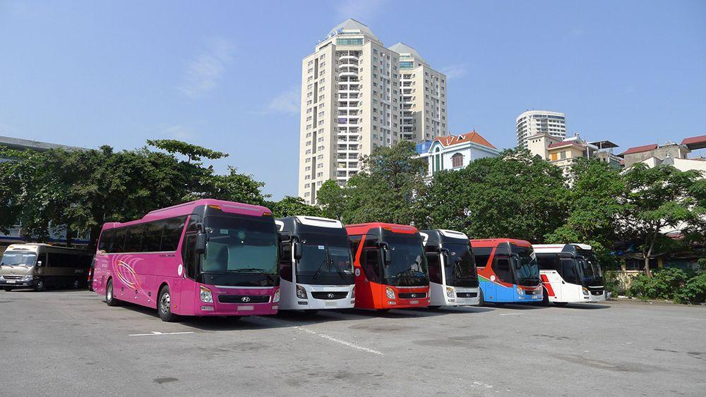 Cho thuê xe 45 chỗ tại Tân An