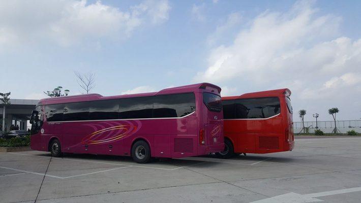 Cho thuê xe du lịch 45 chỗ tại Long An