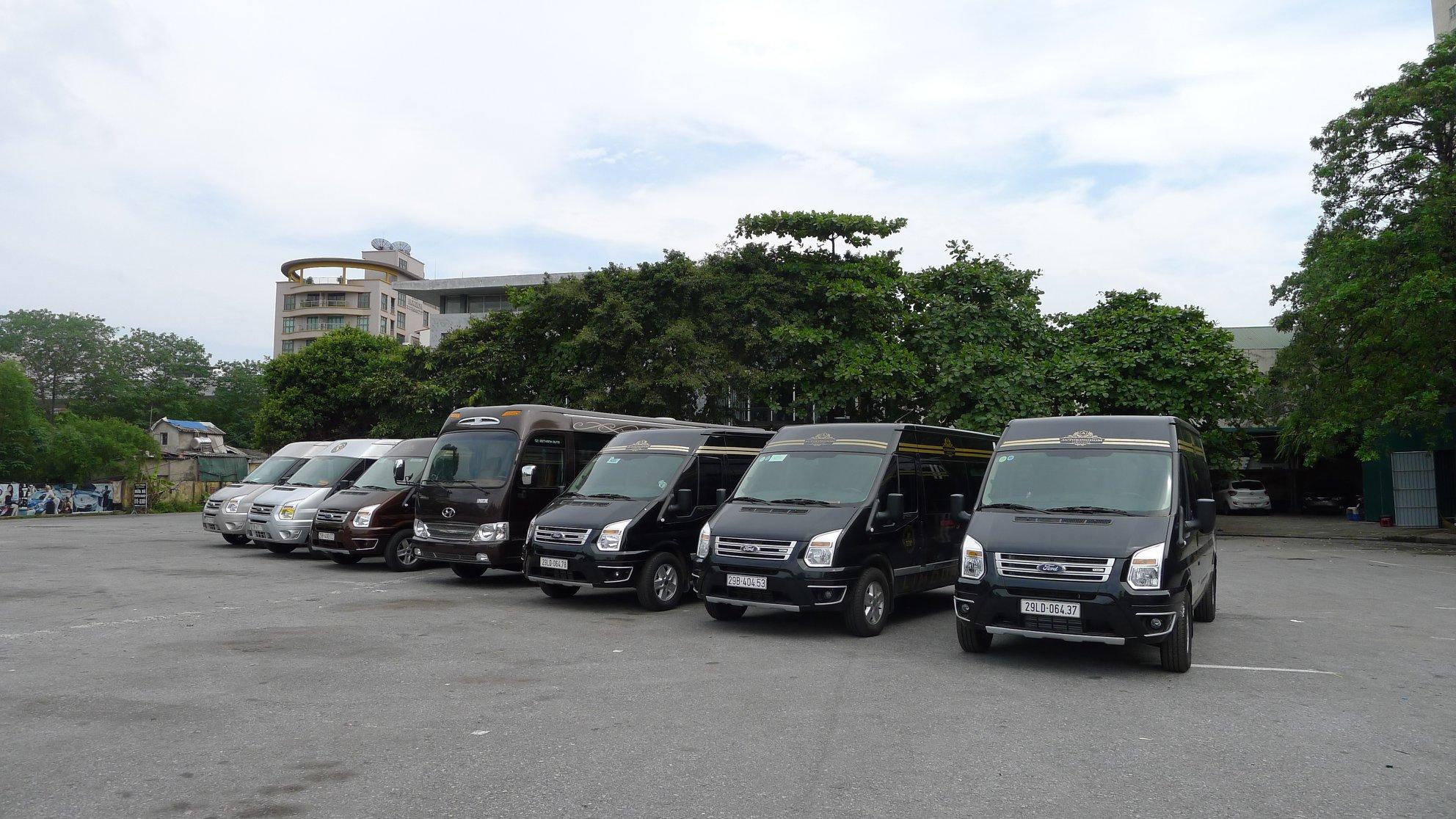 Cho thuê xe 16 chỗ tại Đồng Tháp giá rẻ