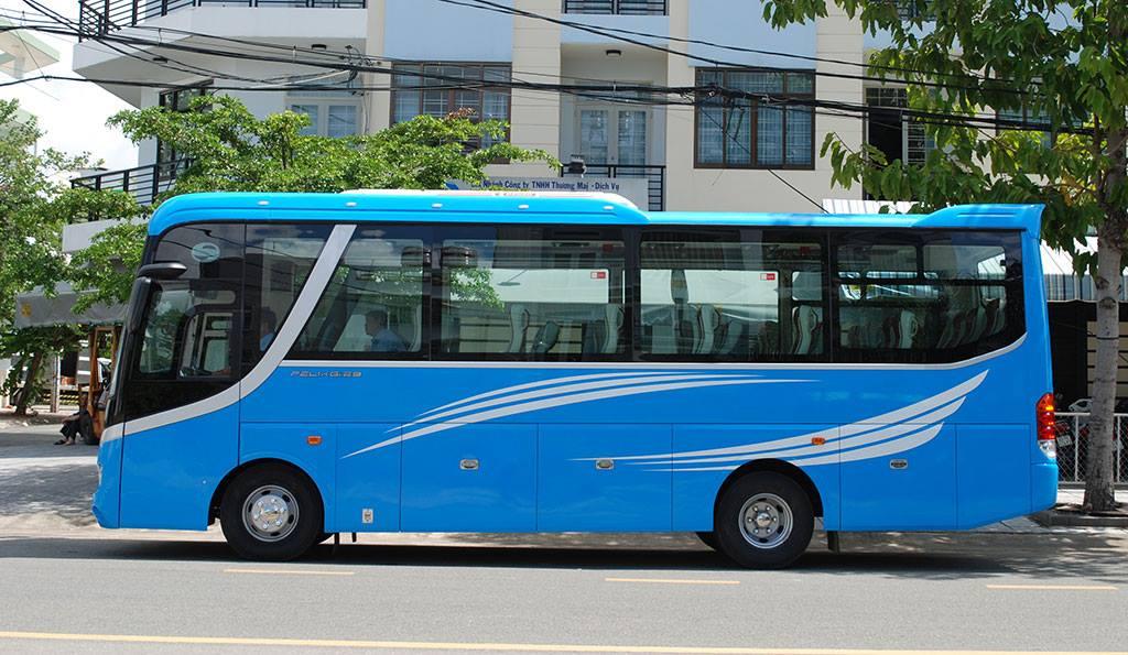 Thuê xe du lịch 29 chỗ tại Cao Lãnh
