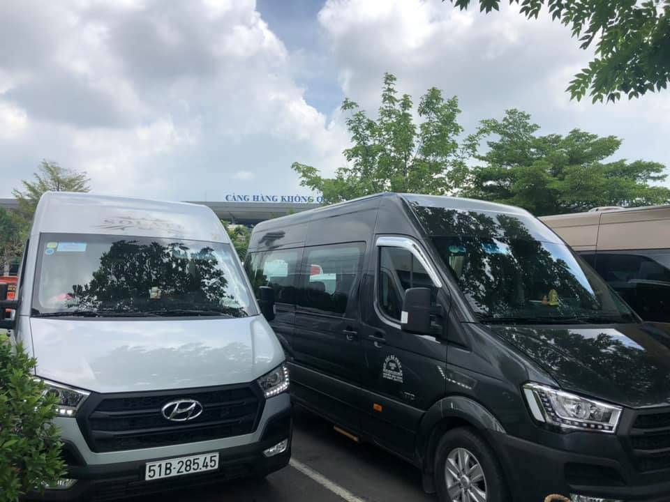 Thuê xe 16 chỗ đi Long Hải