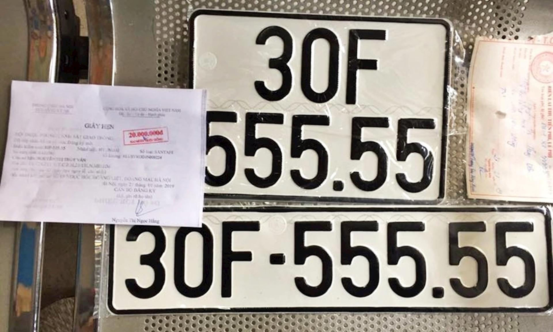 ý nghĩa biển số tứ quý 555