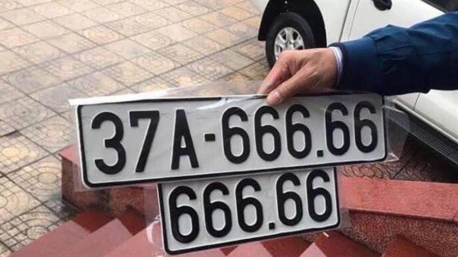 ý nghĩa biển số tứ quý 6666