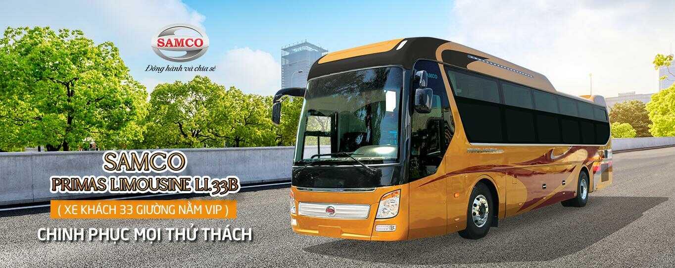 Giá xe Samco giường nằm Primas Limousine 33GV