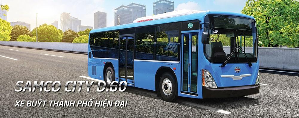 Giá xe bus Samco D60