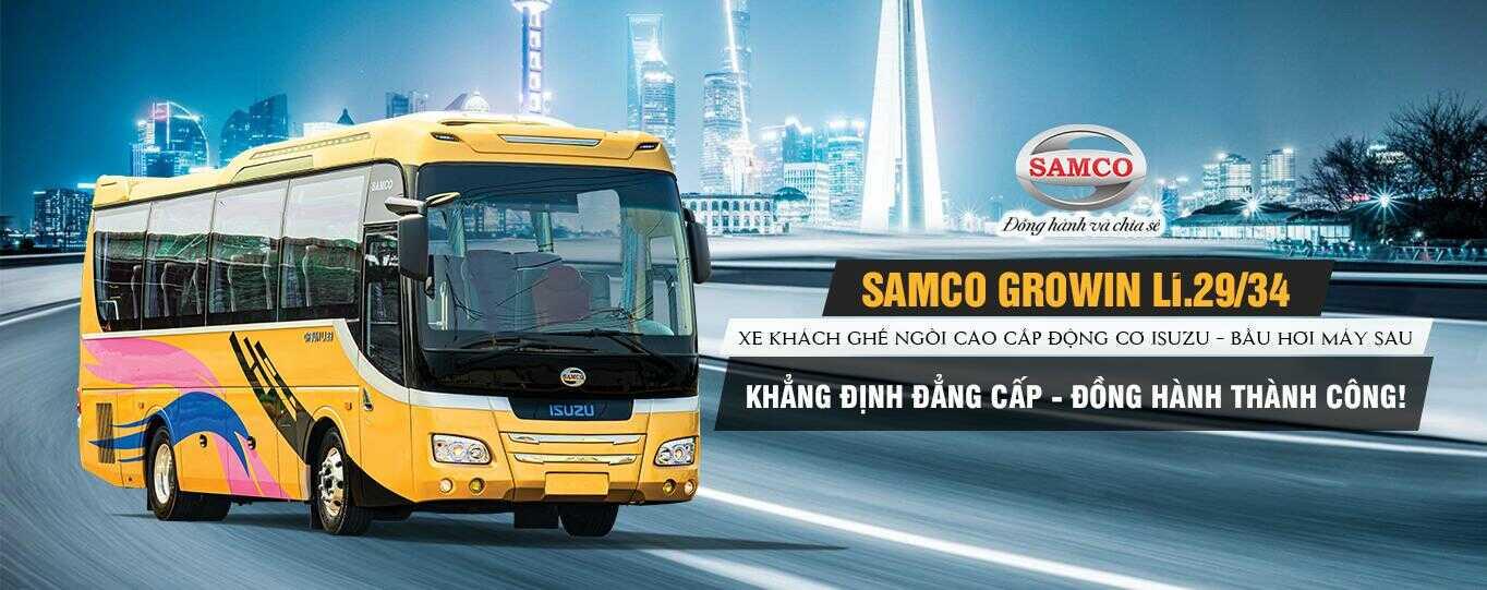 Giá xe khách Samco Growin LI