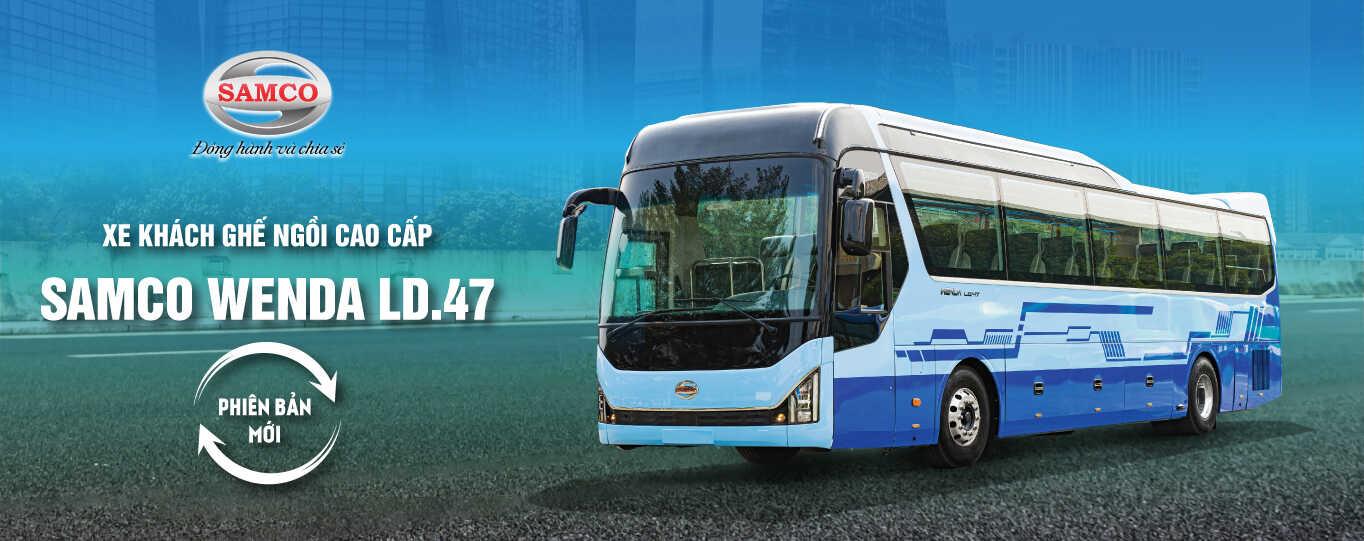 Giá xe khách Samco Wenda LD 47 chỗ