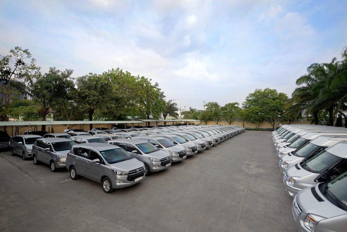 công ty Hàn Quốc cần thuê xe
